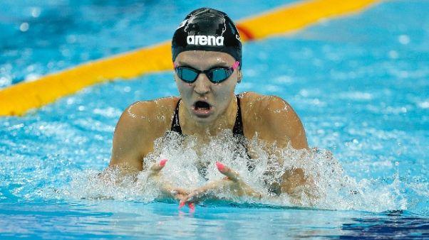 Nuoto, Panziera e staffetta in finale