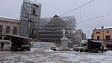 Norcia e Cascia sotto alla neve