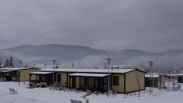 Torna neve su aree Umbria colpite sisma