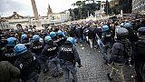 Lazio-Eintracht,tensioni vicino Olimpico
