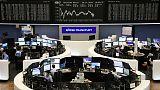 أسهم أوروبا تتراجع بعد صعودها يومين بفعل مخاوف النمو وانفصال بريطانيا