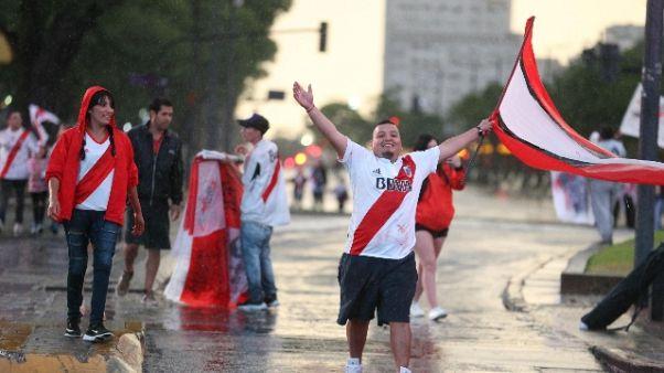 Libertadores: ucciso un tifoso del River