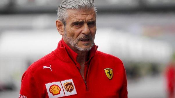 F1: Arrivabene, nel 2019 vogliamo titolo