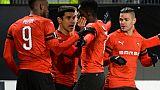 Ligue Europa: Marseille coule, Rennes franchit le cap, Bordeaux à quai