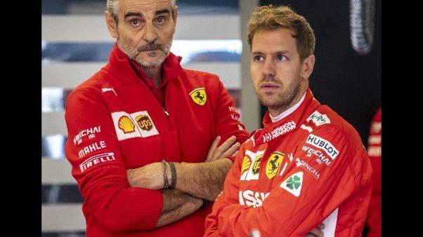 Arrivabene, Vettel darà presto il meglio