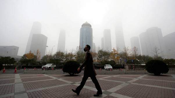 Smog and a hard place - China regions caught between economic woes and pollution war