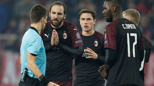 Gattuso says Milan have only themselves to blame for Europa exit