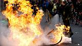 Protests plunge French business activity into contraction - PMI