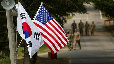 U.S., South Korea can't agree on splitting the bill after Trump's criticism
