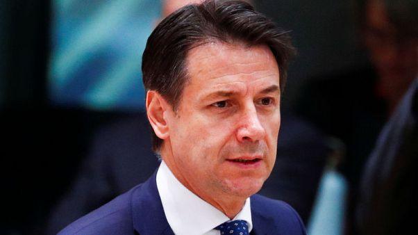 Italy PM Conte met Merkel on budget, plans meetings with other EU leaders