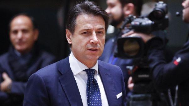 Conte, 21/12 conferenza stampa fine anno
