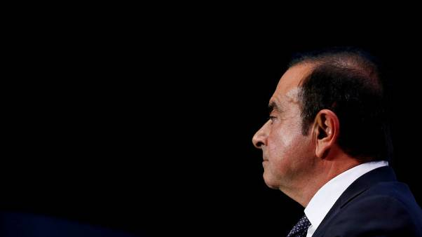 Nissan says Ghosn representatives took documents from Rio apartment