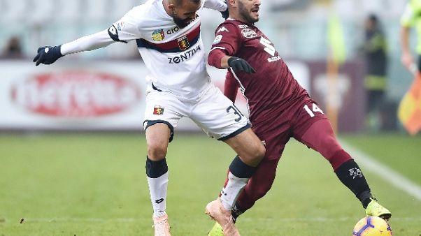 Calcio: problemi muscolari per Falque
