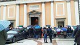 Funerali per Mattia, Daniele e Asia