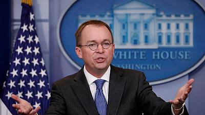 Trump taps budget director Mulvaney as acting chief of staff