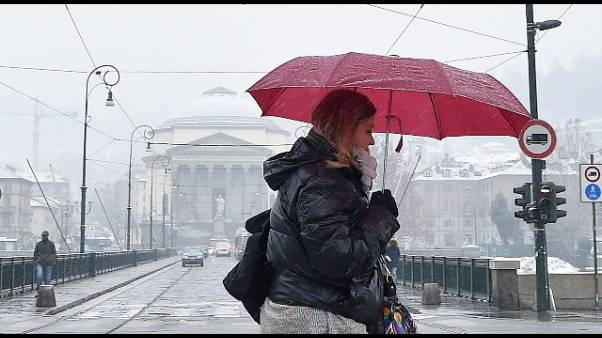 Neve in arrivo sul Piemonte