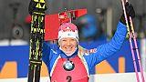Biathlon: victoire de Makarainen lors de la poursuite d'Hochfilzen