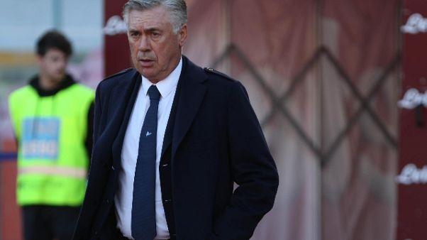 Ancelotti, puntiamo finale E. League