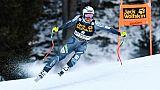 Val Gardena: le Norvégien Kilde intouchable en descente, peur pour Gisin