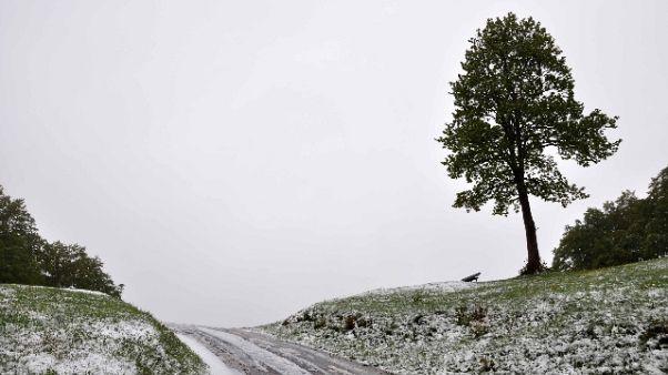Maltempo: neve in arrivo al centro-nord