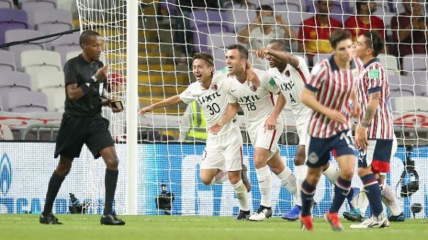 Mondiale club, Kashima-Guadalajara 3-2