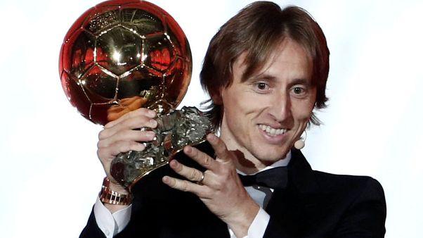 Modric criticises Ballon d'Or gala snub by Messi, Ronaldo