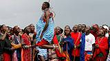 Kenyan warriors hunt cash not lions in Maasai Olympics