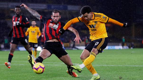 Wolves beat Bournemouth in their best top-flight run for 38 years