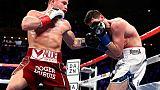 Boxe: Canelo Alvarez s'empare du titre WBA des super-moyens par arrêt au 3e round