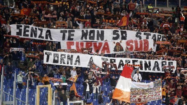 Roma-Genoa, ci sarà protesta Curva Sud
