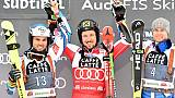 Ski alpin: Hirscher intouchable en Géant devant deux Français à Alta Badia