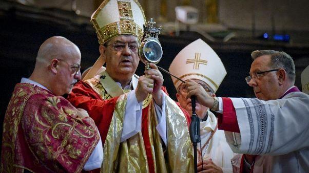 A Napoli si ripete miracolo San Gennaro