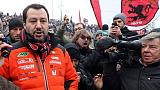 Salvini, curva Milan tra le più belle