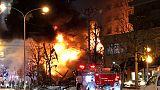 وكالة: إصابة أكثر من 40 في انفجار بمدينة سابورو اليابانية