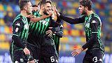 Serie A: il Sassuolo vince ed è sesto