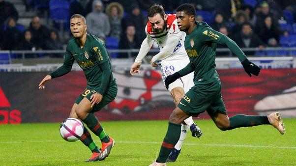 Monaco slump again at rampant Lyon