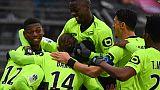 Ligue 1: Lille signe un joli coup à Nîmes, Saint-Etienne frustré par Nice