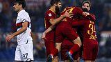 Serie A: Roma-Genoa 3-2