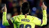 Levante-Barcellona 0-5, tripletta Messi