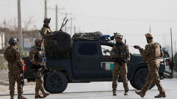 Afghan Taliban meet U.S. officials, as peace efforts intensify