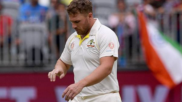 Australia's Finch cleared to bat on pivotal fourth day