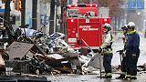 مسؤولو الشرطة والإطفاء اليابانيون يبحثون عن سبب انفجار وقع في مدينة سابورو