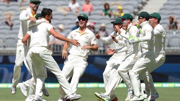 Australia five wickets away from winning second test