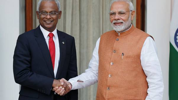 India's Modi announces $1.4 billion financial aid to Maldives