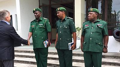 Peacekeeping chief honours Tanzanian troops in Zanzibar, a year on from deadly DR Congo attacks