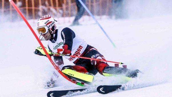 A Obereggen anche l'olimpionico Razzoli