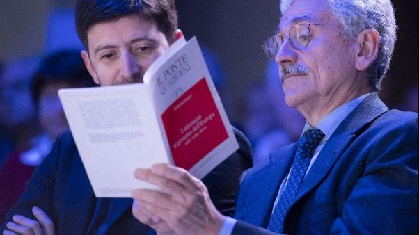 Pd: Gentiloni, D'Alema non rispunterà