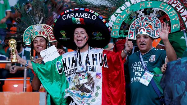 Mexico's World Cup party goes on as fan opens bar in Russia