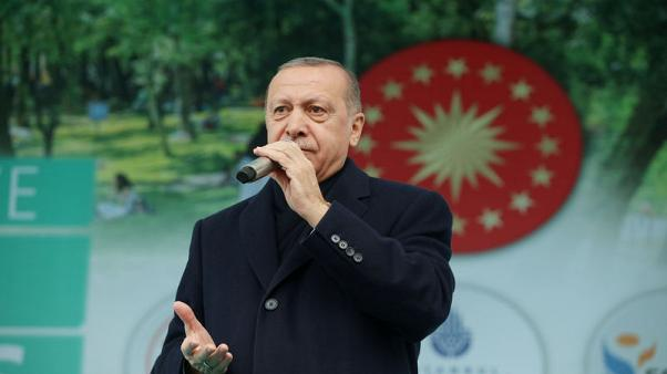 Turkey may start new Syria operation at any moment, Erdogan says