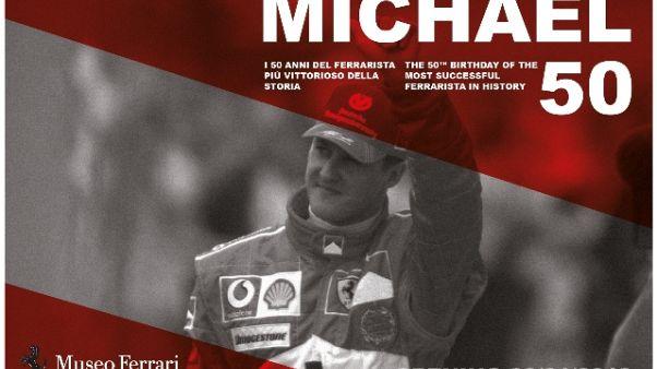'Michael 50', una mostra per Schumacher